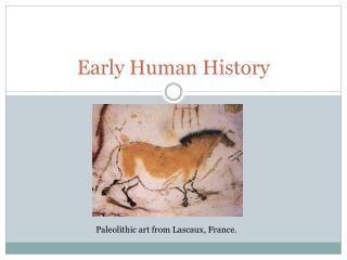 Early Human History