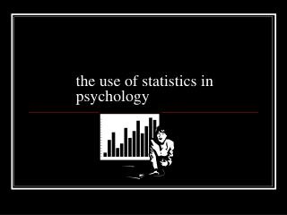 the use of statistics in psychology