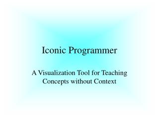Iconic Programmer