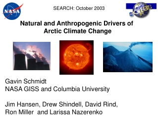 Natural and Anthropogenic Drivers of  Arctic Climate Change