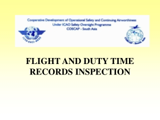 FLIGHT AND DUTY TIME RECORDS INSPECTION