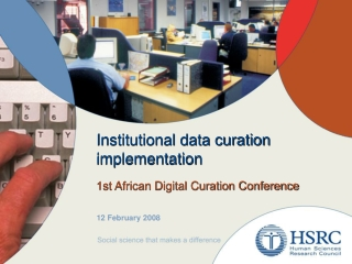 Institutional data curation implementation