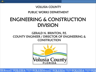 ENGINEERING & CONSTRUCTION DIVISION