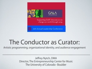 The Conductor as Curator: Artistic programming, organizational identity, and audience engagement