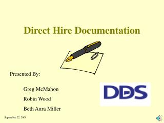 Direct Hire Documentation