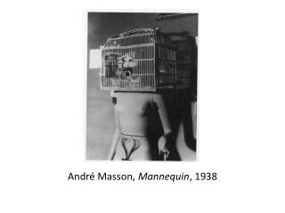 André Masson,  Mannequin , 1938