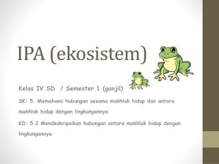 ekosistem IPA