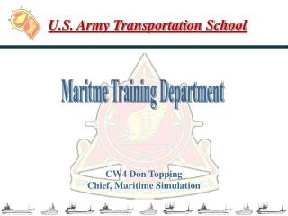 U.S. Army Transportation School