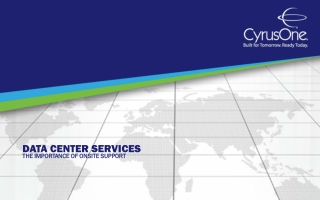 Data Center Services: The Importance of Onsite Support
