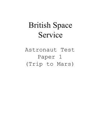 British Space Service