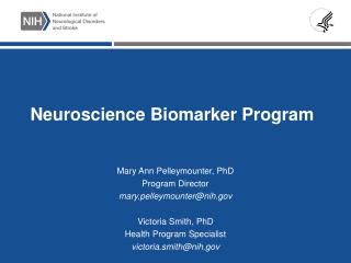 Neuroscience Biomarker Program