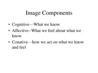 Image Components