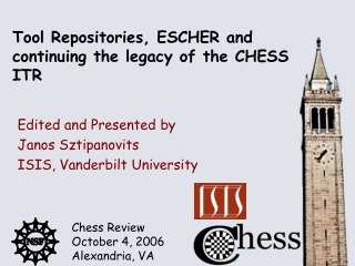 Tool Repositories, ESCHER and continuing the legacy of the CHESS ITR