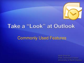 """Take a """"Look"""" at Outlook"""