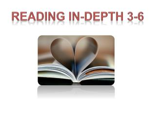 Reading in-depth 3-6