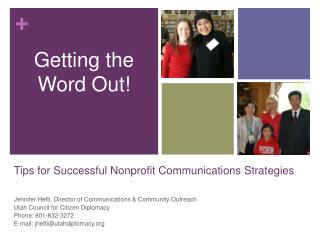 Tips for Successful Nonprofit Communications Strategies