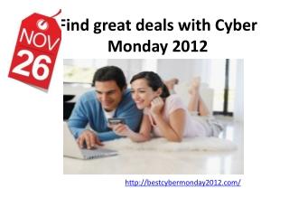 Best Cyber Monday 2012