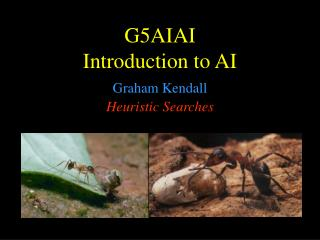 G5AI AI Introduction to AI