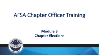 AFSA Chapter Officer Training