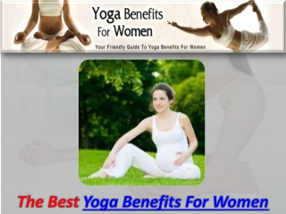 Yoga Benefits For Women