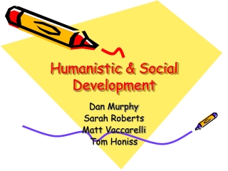 Humanistic & Social Development