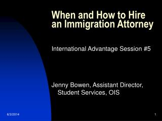 When and How to Hire an Immigration Attorney