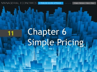 Chapter  6 Simple Pricing