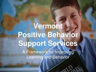 Vermont Positive Behavior Support Services