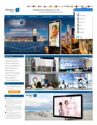 Internet LCD Video Monitors, Digital Signage Kiosk, Lcd Advertising Monitor.