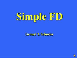 Simple FD