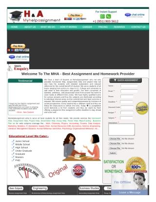 Case study Homework help | Case study Assignment Help