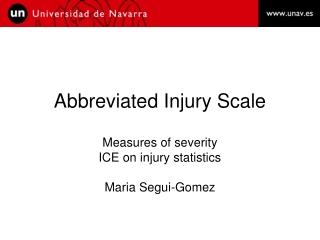 Abbreviated Injury Scale