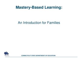 Mastery-Based Learning: