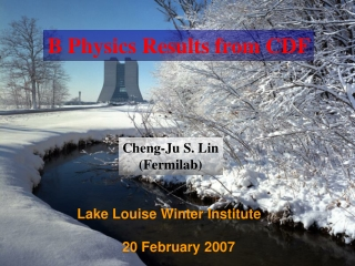 Lake Louise Winter Institute      20 February 2007