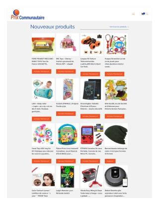 FR produits de santé et de soins personnels | Prixcommunautaire.fr