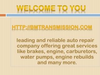 austin transmission service