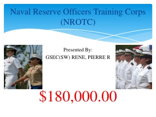 Naval Reserve Officers Training Corps (NROTC)