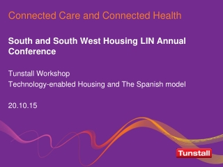 Connected Care and Connected Health