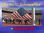 Navy ROTC Scholarships