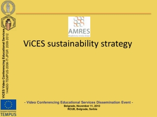 ViCES sustainability strategy