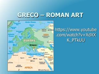 GRECO – ROMAN ART