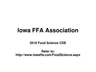 Iowa FFA Association
