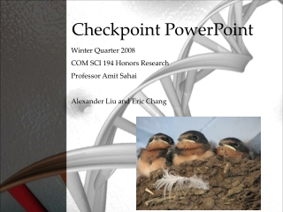 Checkpoint PowerPoint