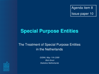 Special Purpose Entities