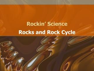 Rockin' Science