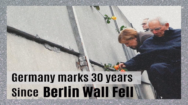 Germany marks 30 years since Berlin Wall fell