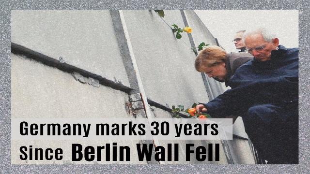 Germany marks 30 years since Berlin Wall fell