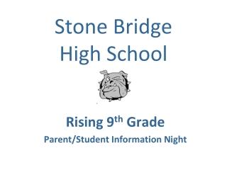 Stone Bridge  High School