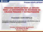 Proceso HDHPLUS