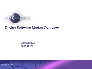Device Software Market Overview